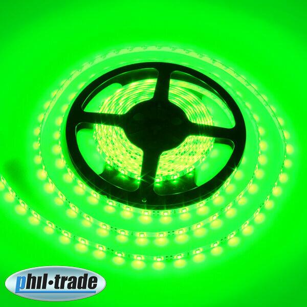LED Stripe 5 M 300 x 3528 Epistar SMD Green Stripes Light bar Hose