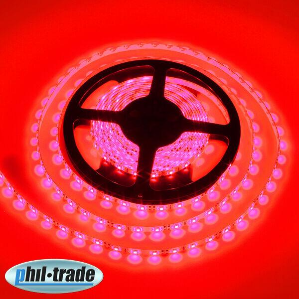 LED Stripe 5 M 300 x 3528 Epistar SMD Red Stripes Light bar Hose
