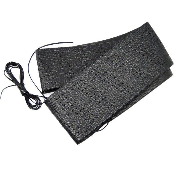 Steering Wheel Cover for Self Lacing Black