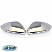1Set Stainless Mirror Caps for VW Golf VII 7 3D 5D...
