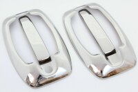 1Set Stainless Door Handle V2A Chrome with Frame for Ducato Citroen Jumper Daily