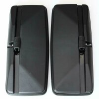 2 X Lorry Outside Mirror XL Double 50 X 22 CM Universal, Blind Angle Spot + Zoom