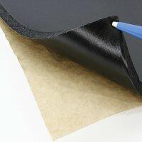 50 x 80cm Foam Acoustic Insulation Mat Aquarium Underlay Black Self-Adhesive