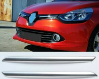 Chrome Radiator Grille Trim V2A Attachments for Renault Clio IV Phase I