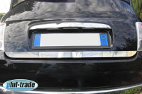 Stainless Steel Chrome Boot BAR Lower for Fiat 500 from Yr 2007- Rear Trunk Trim