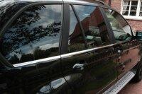 EDELSTAHL FENSTERLEISTEN CHROM für BMW X5 E53   BJ...