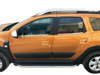 Stainless Steel Window Moulding Chrome For Dacia Duster II Ab 2018- 4-tlg Set