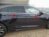 Stainless Steel Window Chrome For Vauxhall Insignia B...