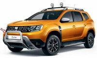 Original Dacia Bull bar for Duster II from Yr 2018- Stainless Steel