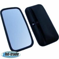 Lorry Tractor Bus Outside Mirror Universal 36 X 18 CM, Mirror For 0 23/32in [V6]