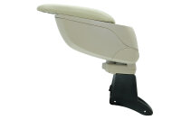Center Armrest with Compartment for Dacia Logan + MCV Exact Fit Beige ARM-18