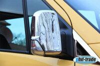 1 Set Stainless Mirror Caps V2A for Mercedes Sprinter...