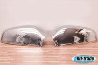 1Set Stainless Steel Mirror Caps V2A Chrome for Opel Astra H 2004-2010