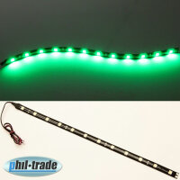 30cm Green LED bar Beam Strip Light 12V 12 x 5050 SMD Adhesive Green
