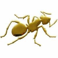 Aufkleber Sticker Gold Chrom 3D Emblem AMEISE Auto...