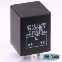 Flasher Relay CF13 Indicator For LED Lamp Independent of Load Eg Ba15S Bau15S