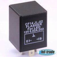 Flasher Relay CF14 Indicator for LED Lamp Independent of Load Eg Ba15S Bau15S