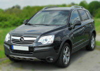 Chrome Radiator Grille Trim Stainless Steel for Vauxhall Antara to 2011