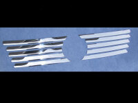 Stainless Steel Chrome Grill Trim for Mercedes Vito W638 1996-2003 Grille
