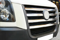 Stainless Steel Grille Trim Chrome for VW Crafter I Pre-facelift Yr 2006-2011
