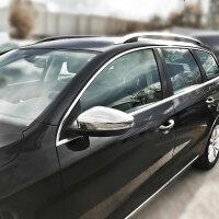 Stainless Steel Mirror Casing for VW EOS Jetta 6 Passat...
