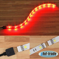 Extensible LED bar to the Plug Red 5050 SMD 30cm Push in...