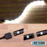 Extensible LED bar to the Plug White 5050 SMD 30cm Push...
