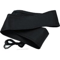 Steering Protector Cover Real Leather Perforated Black...