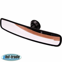 Panorama Mirror Convex Car Truck Tractor Bus Rearview with Suction Cup 33 x 7 CM