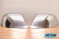1 Set Stainless Mirror Caps V2A Chrome for VW Touareg I...