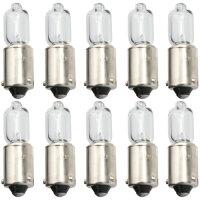 10 Piece BAX9S Halogen Lamp Light Lima H6W 6 Watt 12V Car Bulbs Boxed
