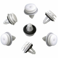 10x Interior Cover Clip with Seal Mounting for BMW E46 E60 51418224768