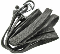 250cm Piece Clamping Rubber Rope Luggage Holder Pendant Ladungs Fuse Strap Band