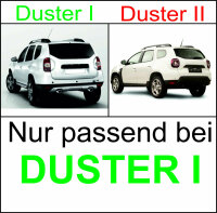 4 Original Mud Flap Dacia Duster I Front and Rear Left Right