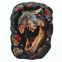 Real Premium 3D Hologram Sticker Raptor Dinosaur T-Rex 7 15/32x5 1/2in 3D-3