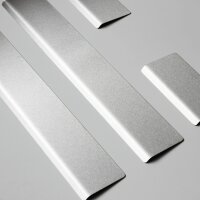 Stainless Steel Door Sill Matte for Vauxhall Astra K Splay 4/5 from Yr 2015>