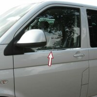 Stainless Steel Window Moulding Chrome for all VW T5, T6...