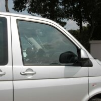 Stainless Steel Window Moulding Chrome for all VW T5, T6 2003-heute 2 Doors