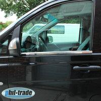 Stainless Steel Window Chrome For Mercedes Vito, V Class...