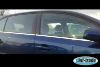 Stainless Steel Window Moulding Chrome For Skoda Rapid...
