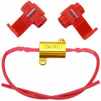 SMD LED Load Resistance Resistance 10W-12V for Canbus with Clamp
