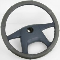Lorry Steering Wheel Cover 44 45 46 CM Real Leather...