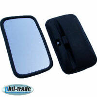 Lorry Tractor Bus Outside Mirror Universal 30 X 18 CM, Mirror For 0 23/32in [V4]
