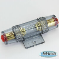 Premium Fuse Holder 60A Complete for Final Stage Amplifier Cable up to 16mm ²