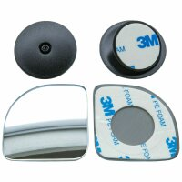 2 Piece Additive Mirror Adjustable outside Wide Angle Blind Spot ACP-005