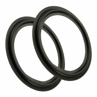 2 X Rubber Beading For Magnat Victory 8 Speaker Repair Set 6 inch [05]