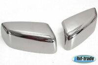 1 Set Stainless Mirror Caps V2A for Jeep Patriot Cherokee Liberty Dodge Nitro