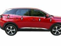 Stainless Steel Window for Peugeot 3008 II Ab 2016- 8tlg...