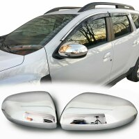 Stainless Steel Mirror Casing for Dacia Duster II ab...