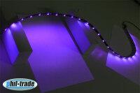 100cm LED Leiste Strip Lichtleiste 12V UltraViolet 30 x 5050 SMD Schwarzlicht UV